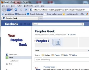 First step to creating a like button is to go to your facebook page as an administrator