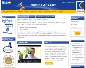Winning at Sport, the Sports Performance Website