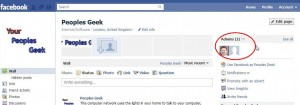Now you can see the new admin on your facebook page
